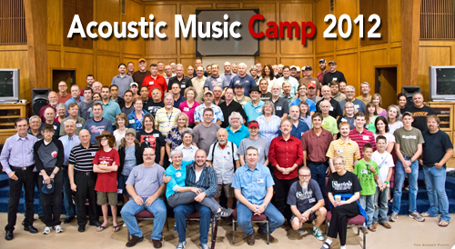 Acoustic Music Camp Class of 2012
